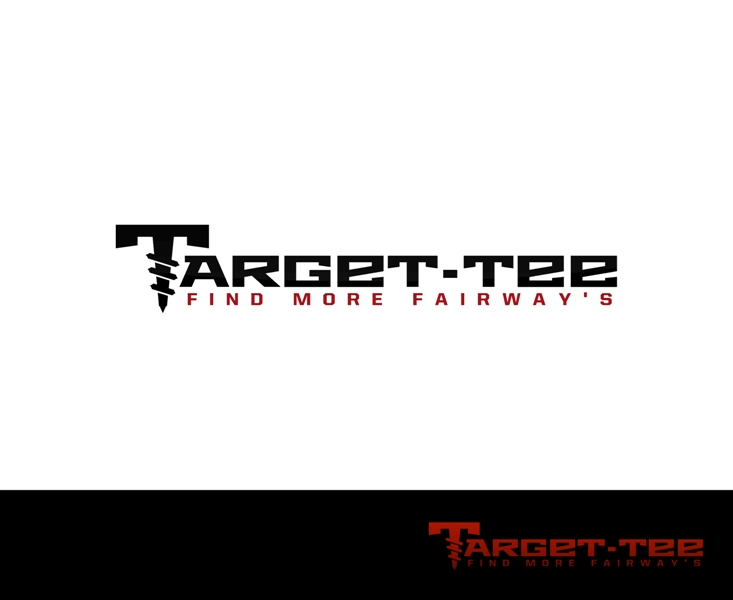Logo Design by Juan_Kata - Entry No. 137 in the Logo Design Contest Imaginative Logo Design for TARGET-TEE.