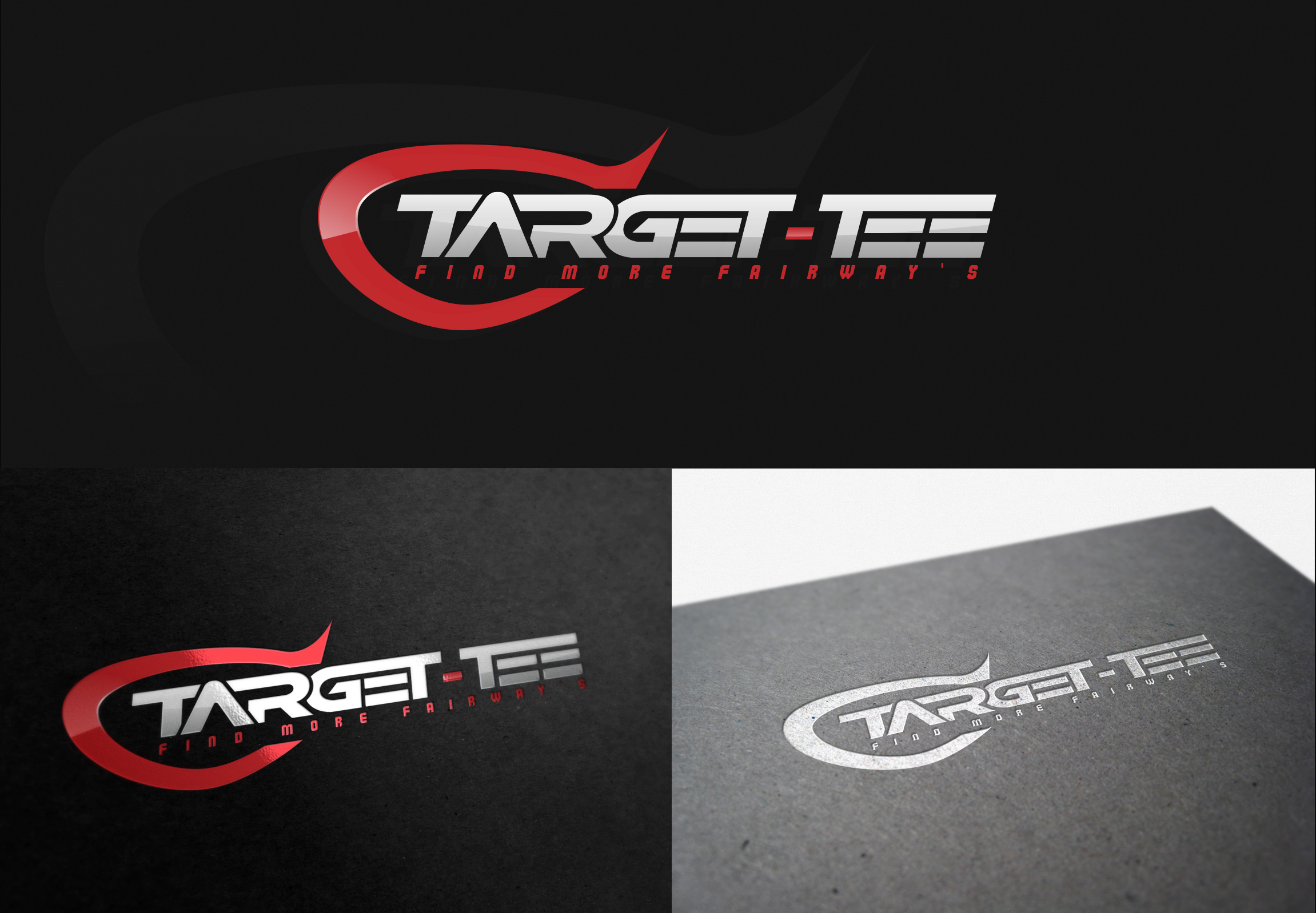 Logo Design by olii - Entry No. 138 in the Logo Design Contest Imaginative Logo Design for TARGET-TEE.