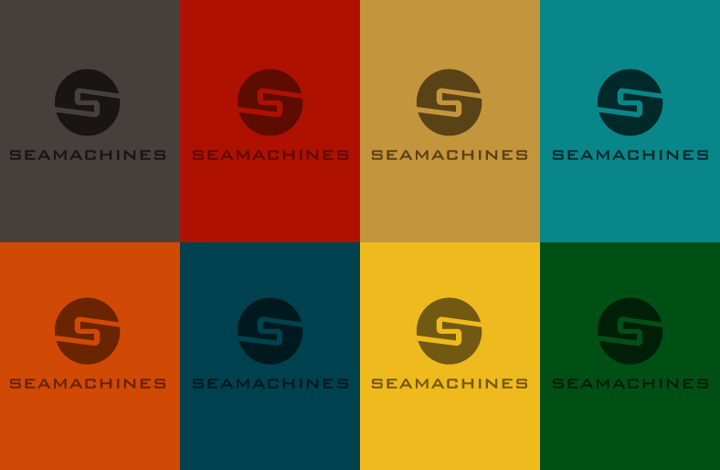 Logo Design by Jan Chua - Entry No. 57 in the Logo Design Contest Creative Logo Design for SeaMachines.