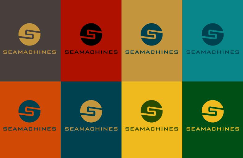 Logo Design by Jan Chua - Entry No. 58 in the Logo Design Contest Creative Logo Design for SeaMachines.
