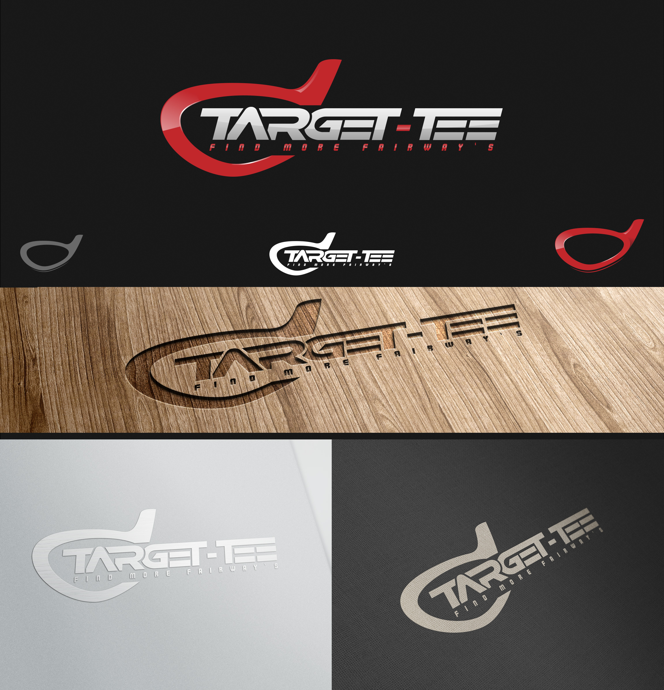 Logo Design by olii - Entry No. 142 in the Logo Design Contest Imaginative Logo Design for TARGET-TEE.