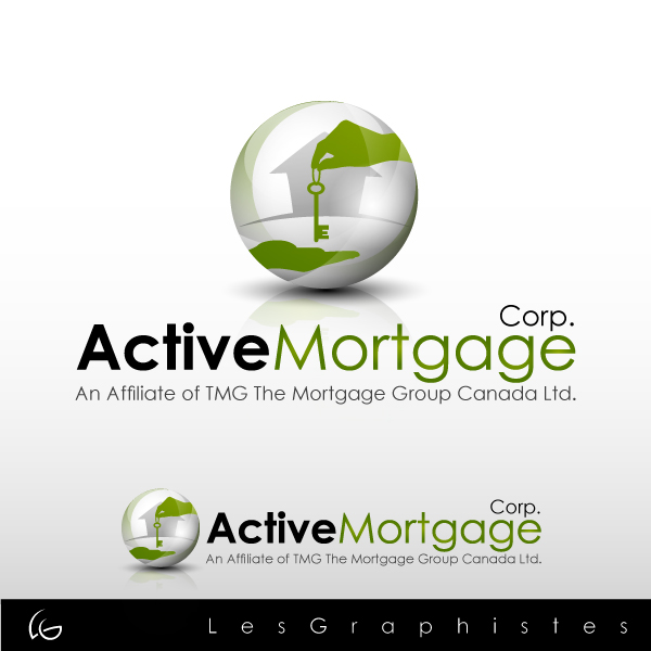 Logo Design by Les-Graphistes - Entry No. 186 in the Logo Design Contest Active Mortgage Corp..
