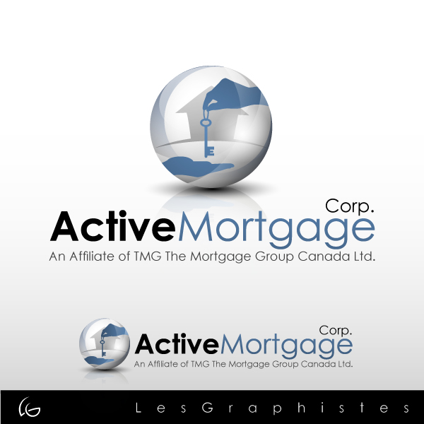 Logo Design by Les-Graphistes - Entry No. 188 in the Logo Design Contest Active Mortgage Corp..