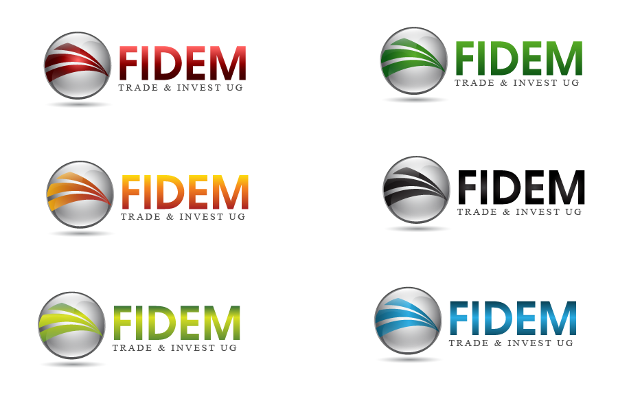 Logo Design by Private User - Entry No. 226 in the Logo Design Contest Professional Logo Design for FIDEM Trade & Invest UG.
