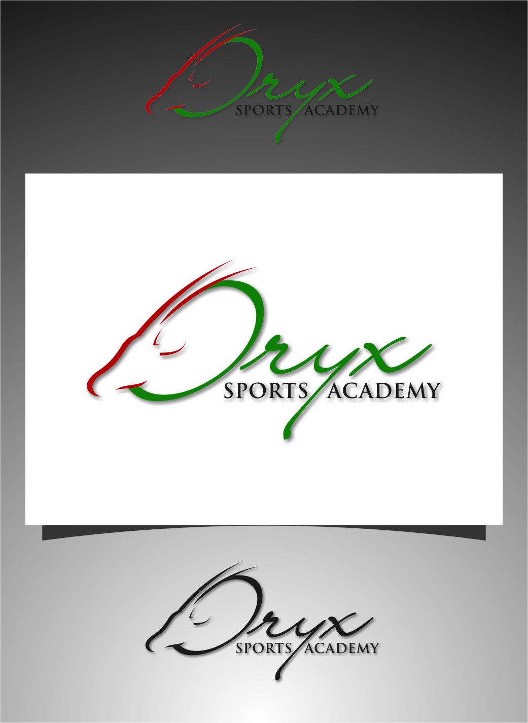 Logo Design by Ngepet_art - Entry No. 139 in the Logo Design Contest New Logo Design for Oryx Sports Academy.