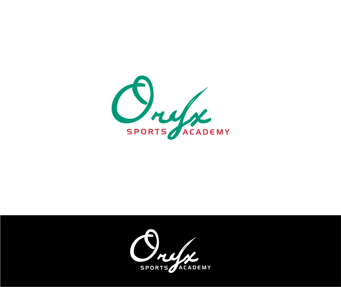 Logo Design by haidu - Entry No. 140 in the Logo Design Contest New Logo Design for Oryx Sports Academy.