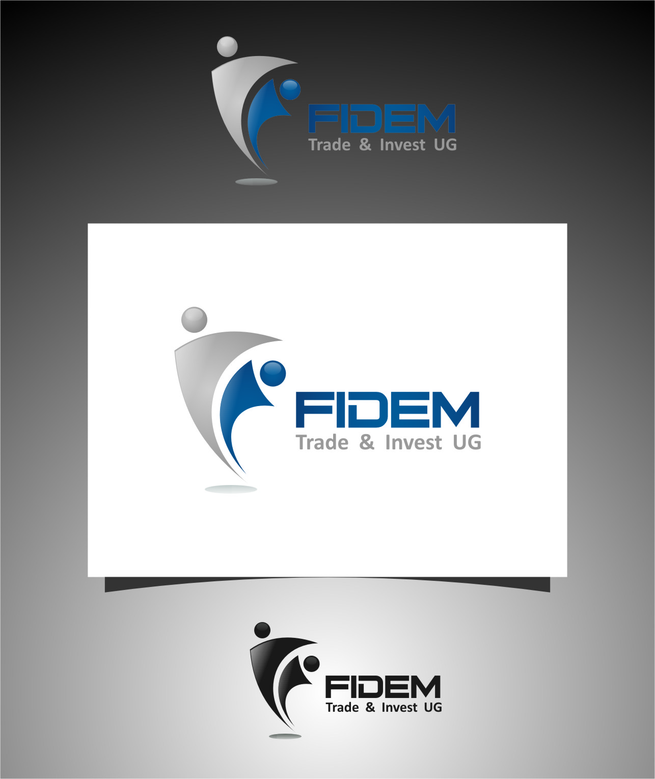 Logo Design by RasYa Muhammad Athaya - Entry No. 235 in the Logo Design Contest Professional Logo Design for FIDEM Trade & Invest UG.