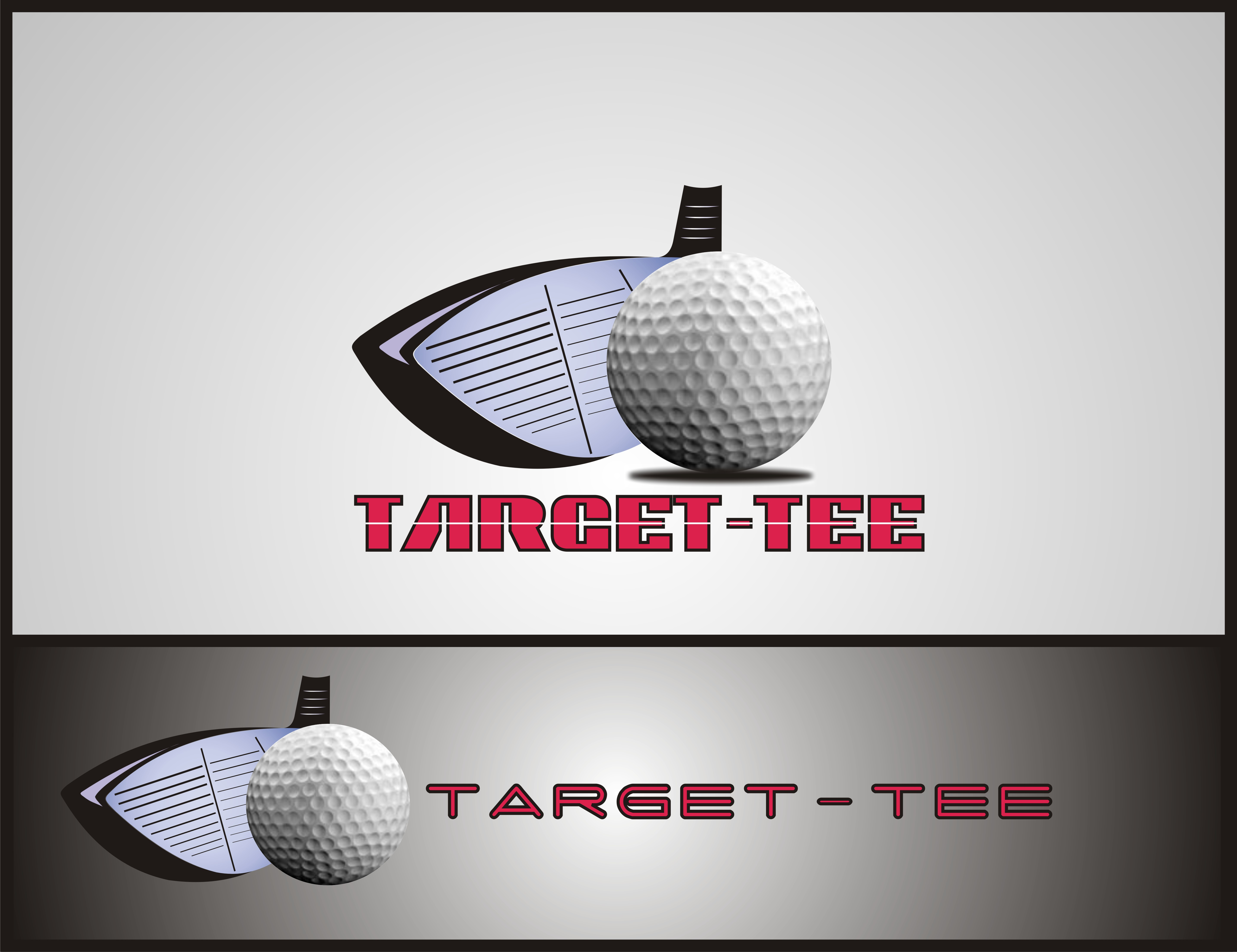 Logo Design by Bangun Prastyo - Entry No. 146 in the Logo Design Contest Imaginative Logo Design for TARGET-TEE.