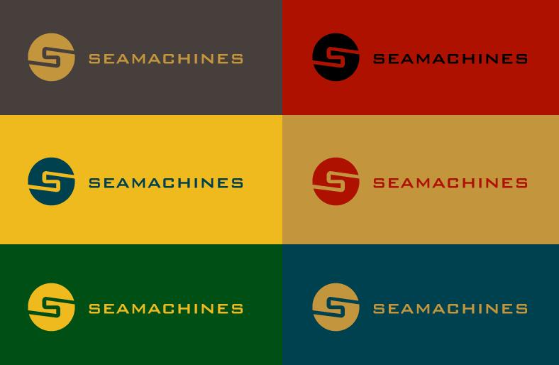 Logo Design by Jan Chua - Entry No. 62 in the Logo Design Contest Creative Logo Design for SeaMachines.