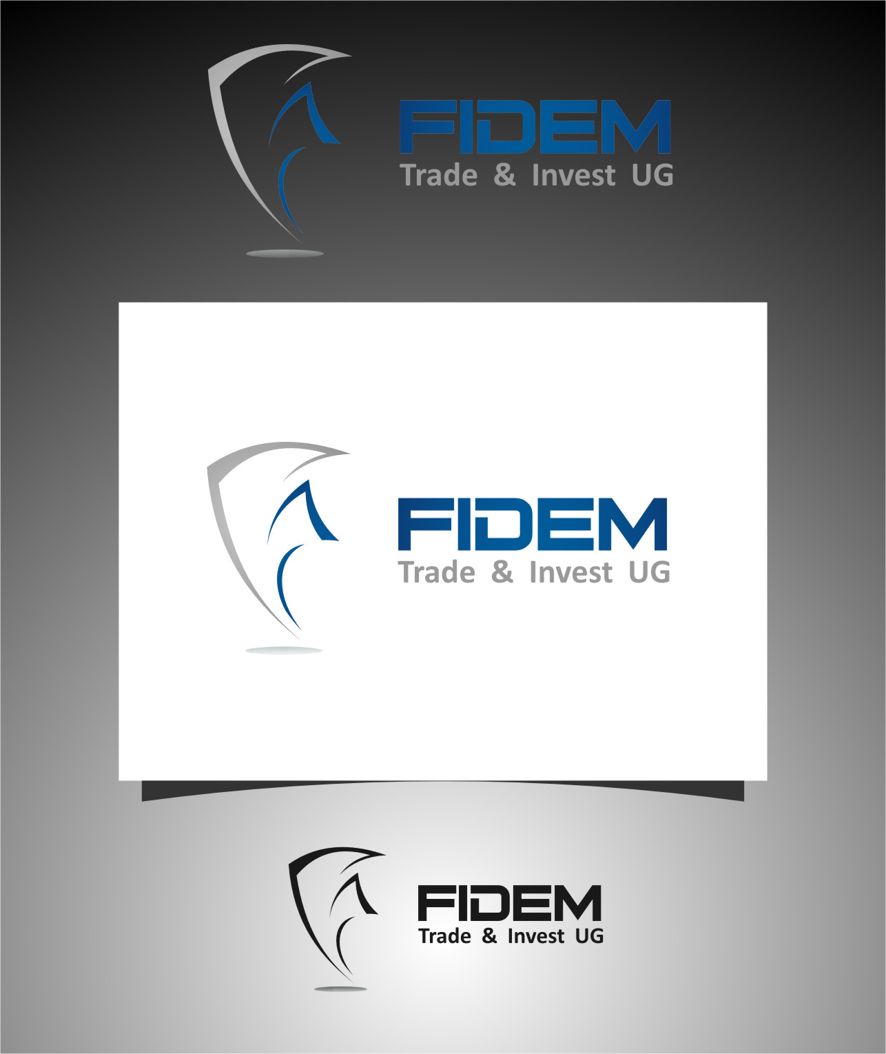 Logo Design by RasYa Muhammad Athaya - Entry No. 242 in the Logo Design Contest Professional Logo Design for FIDEM Trade & Invest UG.