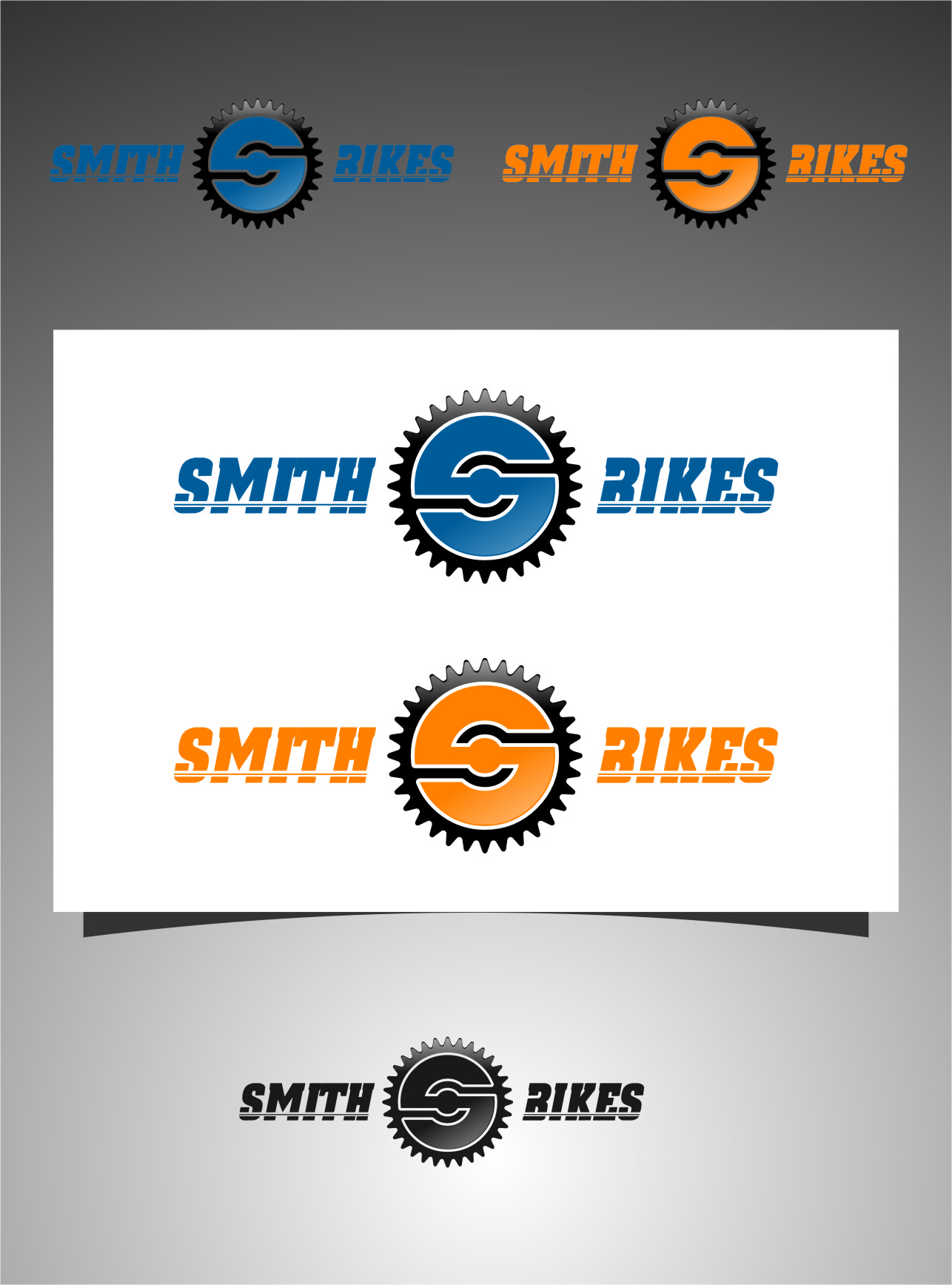 Logo Design by RasYa Muhammad Athaya - Entry No. 132 in the Logo Design Contest Fun Logo Design for SMITH BIKES.