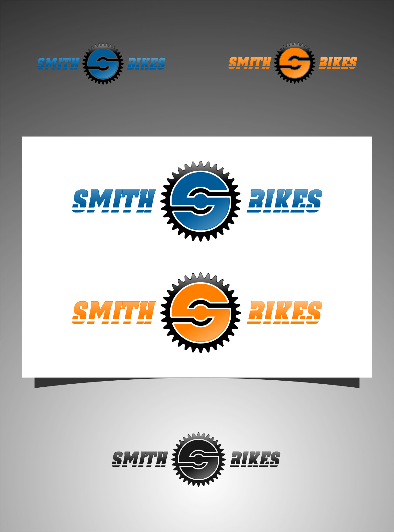 Logo Design by RasYa Muhammad Athaya - Entry No. 133 in the Logo Design Contest Fun Logo Design for SMITH BIKES.