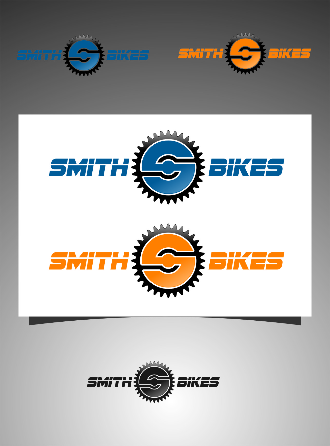 Logo Design by RoSyid Rono-Rene On Java - Entry No. 134 in the Logo Design Contest Fun Logo Design for SMITH BIKES.