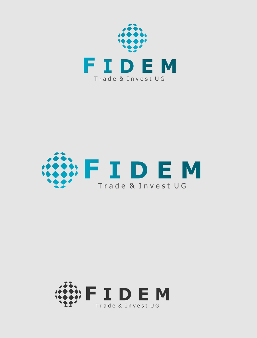 Logo Design by Private User - Entry No. 250 in the Logo Design Contest Professional Logo Design for FIDEM Trade & Invest UG.