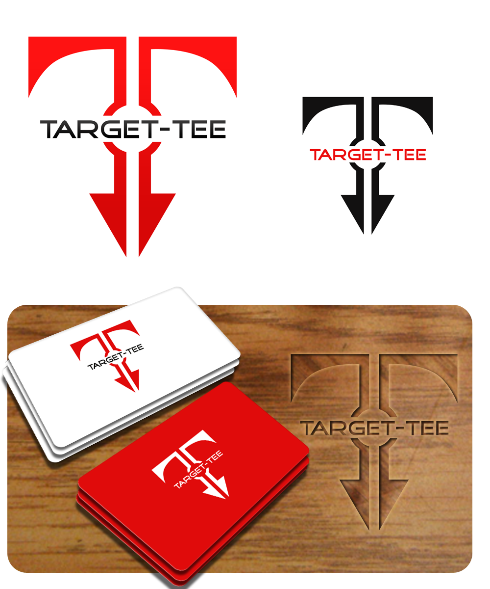 Logo Design by Private User - Entry No. 147 in the Logo Design Contest Imaginative Logo Design for TARGET-TEE.