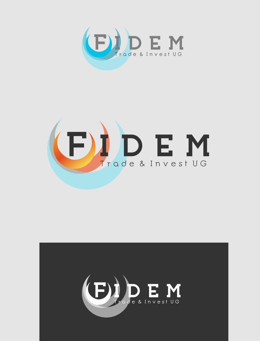 Logo Design by Private User - Entry No. 254 in the Logo Design Contest Professional Logo Design for FIDEM Trade & Invest UG.