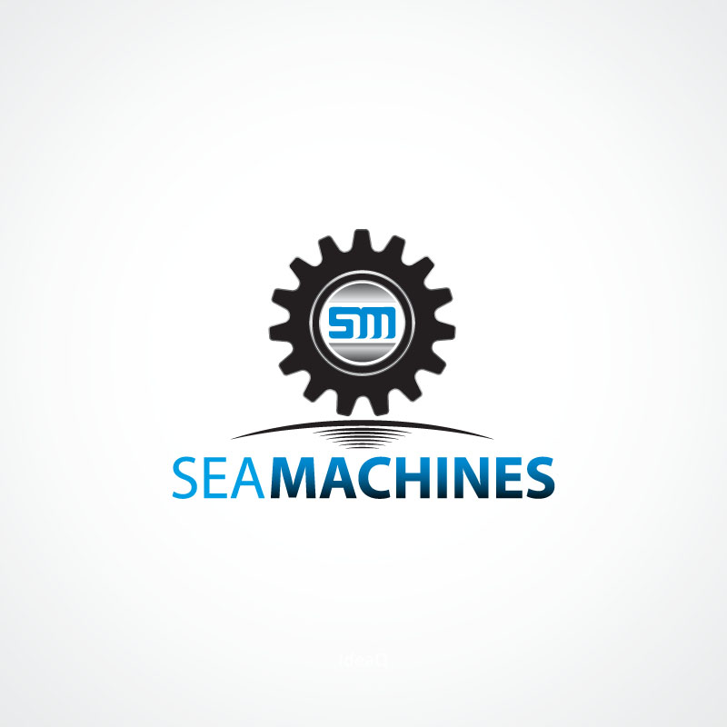 Logo Design by Puspita Wahyuni - Entry No. 64 in the Logo Design Contest Creative Logo Design for SeaMachines.
