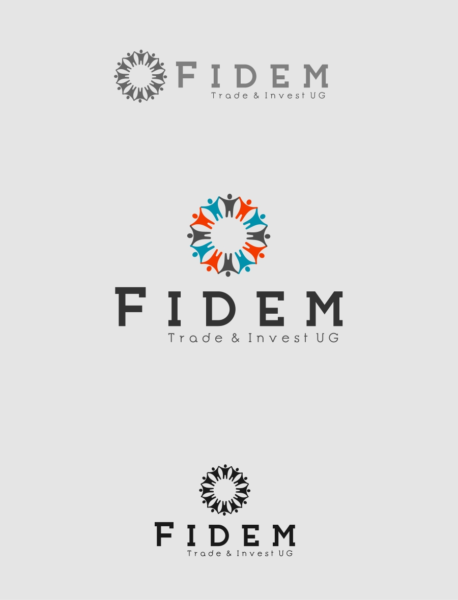 Logo Design by Private User - Entry No. 255 in the Logo Design Contest Professional Logo Design for FIDEM Trade & Invest UG.