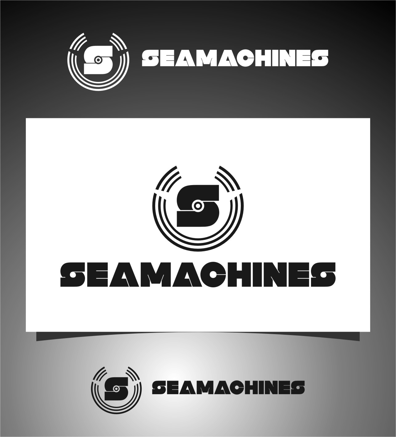 Logo Design by Ngepet_art - Entry No. 66 in the Logo Design Contest Creative Logo Design for SeaMachines.