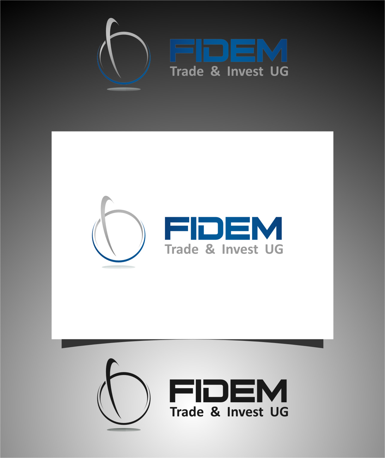 Logo Design by RasYa Muhammad Athaya - Entry No. 256 in the Logo Design Contest Professional Logo Design for FIDEM Trade & Invest UG.