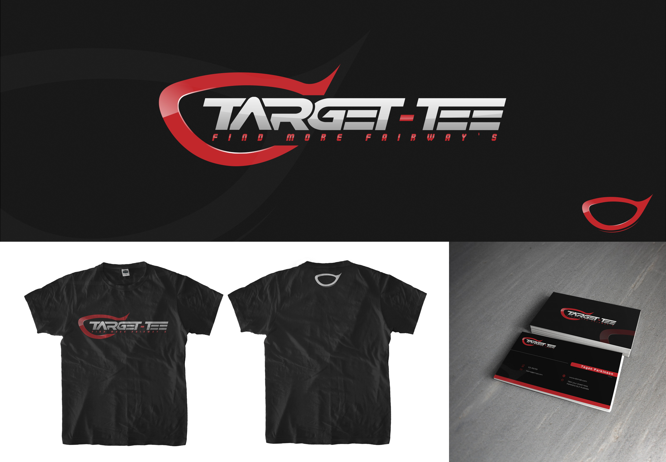 Logo Design by olii - Entry No. 149 in the Logo Design Contest Imaginative Logo Design for TARGET-TEE.