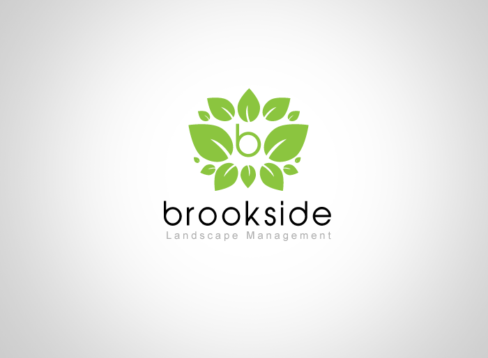 Logo Design by Jan Chua - Entry No. 57 in the Logo Design Contest New Logo Design for Brookside Landscape Management.