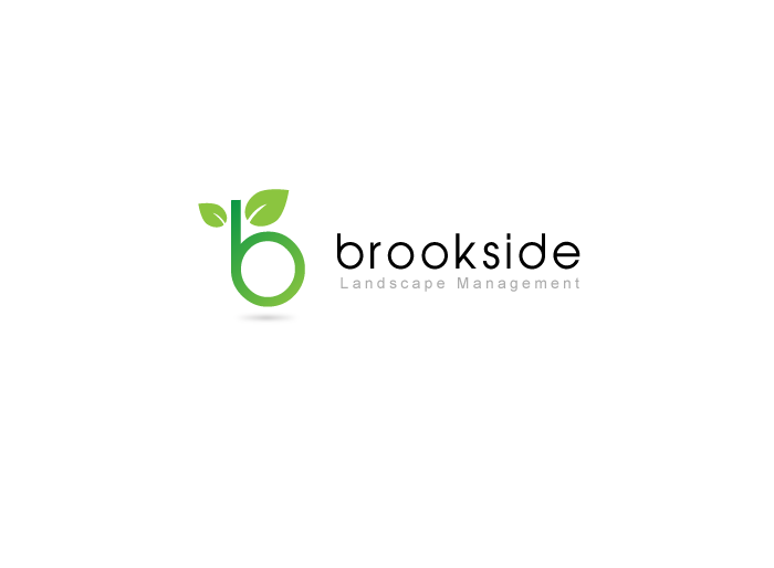 Logo Design by Jan Chua - Entry No. 58 in the Logo Design Contest New Logo Design for Brookside Landscape Management.