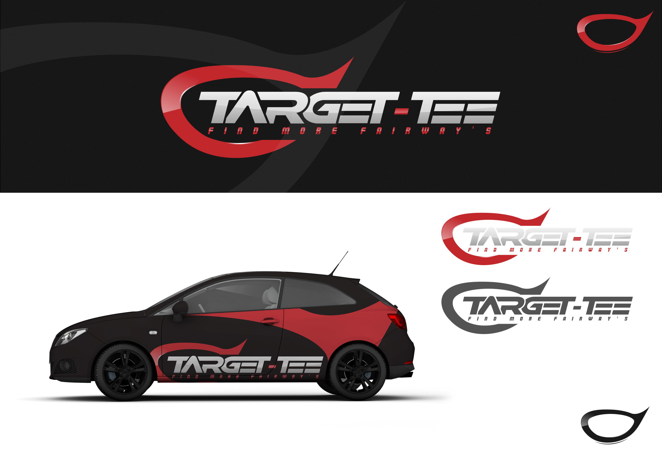 Logo Design by olii - Entry No. 150 in the Logo Design Contest Imaginative Logo Design for TARGET-TEE.