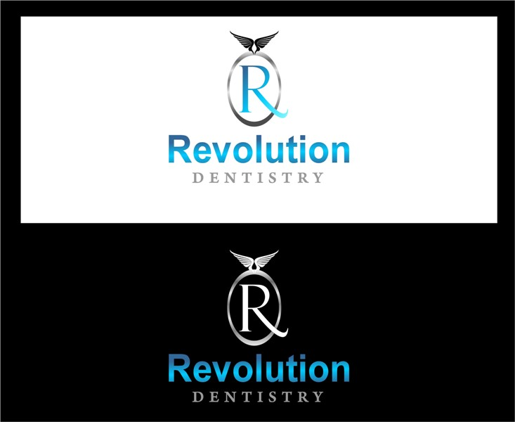 Logo Design by Mhon_Rose - Entry No. 4 in the Logo Design Contest Artistic Logo Design for Revolution Dentistry.