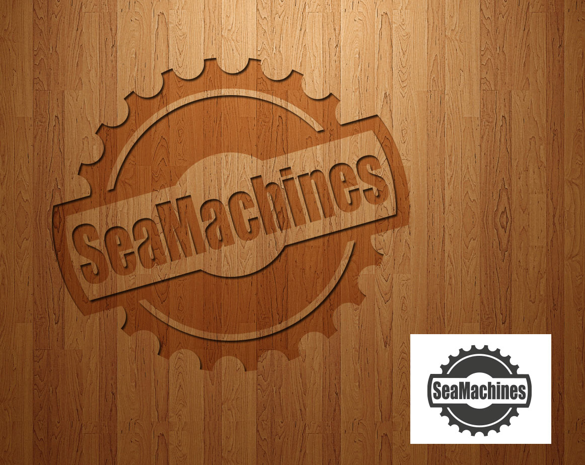 Logo Design by lagalag - Entry No. 69 in the Logo Design Contest Creative Logo Design for SeaMachines.