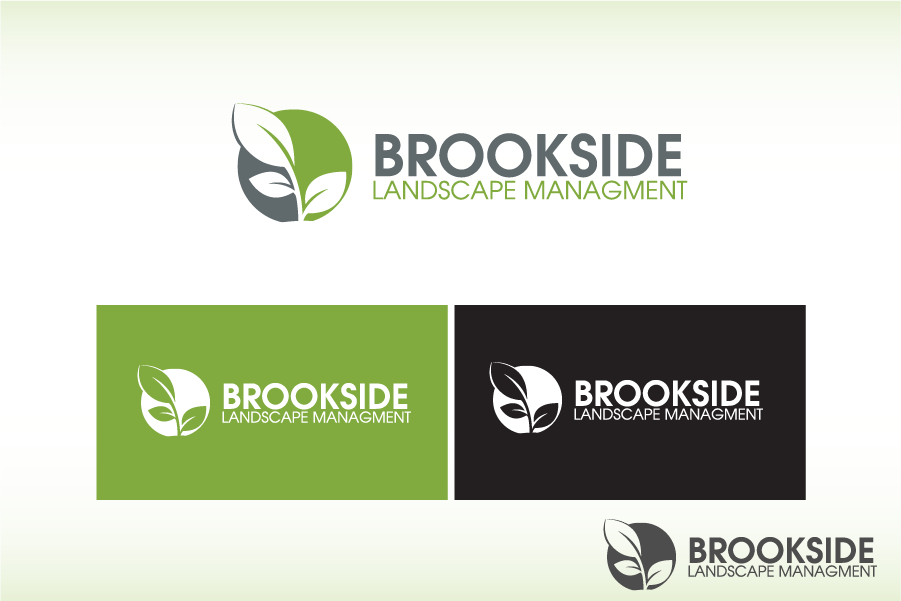 Logo Design by Private User - Entry No. 61 in the Logo Design Contest New Logo Design for Brookside Landscape Management.