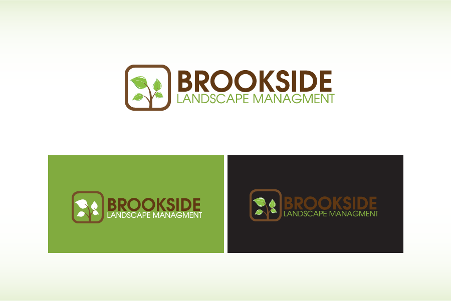 Logo Design by Private User - Entry No. 62 in the Logo Design Contest New Logo Design for Brookside Landscape Management.