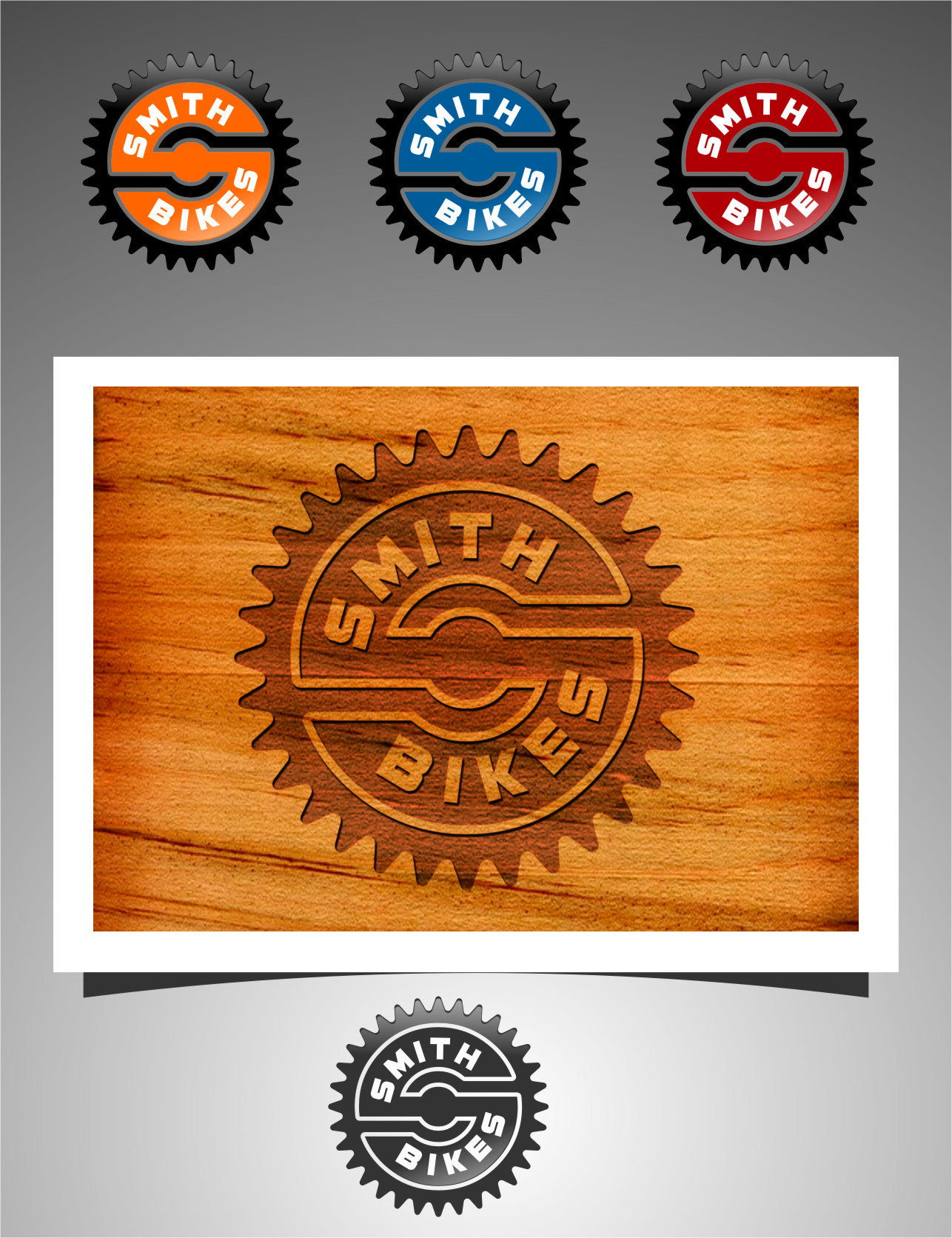 Logo Design by RasYa Muhammad Athaya - Entry No. 149 in the Logo Design Contest Fun Logo Design for SMITH BIKES.