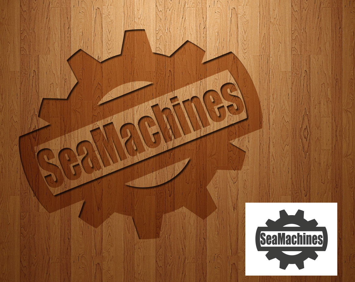 Logo Design by lagalag - Entry No. 70 in the Logo Design Contest Creative Logo Design for SeaMachines.