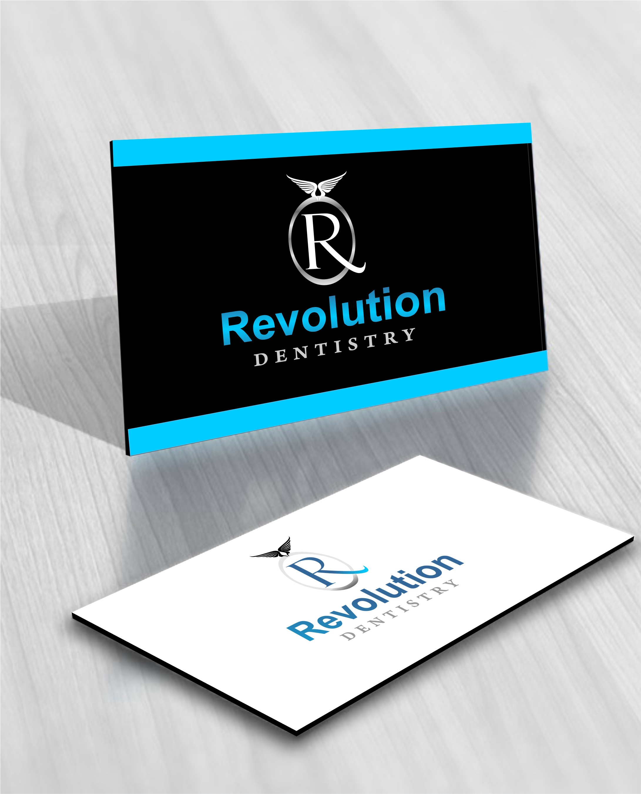 Logo Design by Mhon_Rose - Entry No. 9 in the Logo Design Contest Artistic Logo Design for Revolution Dentistry.
