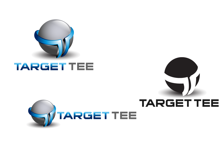 Logo Design by Private User - Entry No. 151 in the Logo Design Contest Imaginative Logo Design for TARGET-TEE.