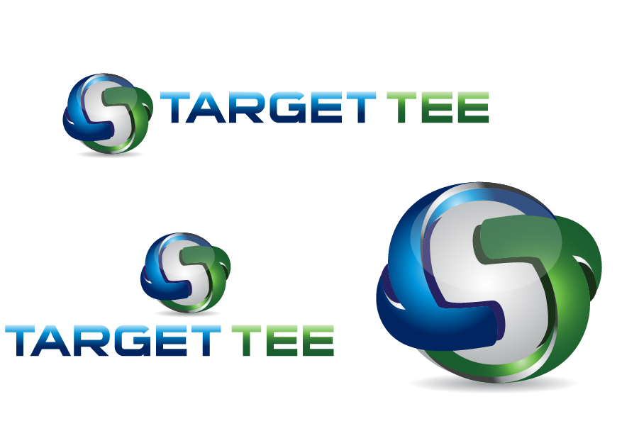 Logo Design by Private User - Entry No. 153 in the Logo Design Contest Imaginative Logo Design for TARGET-TEE.