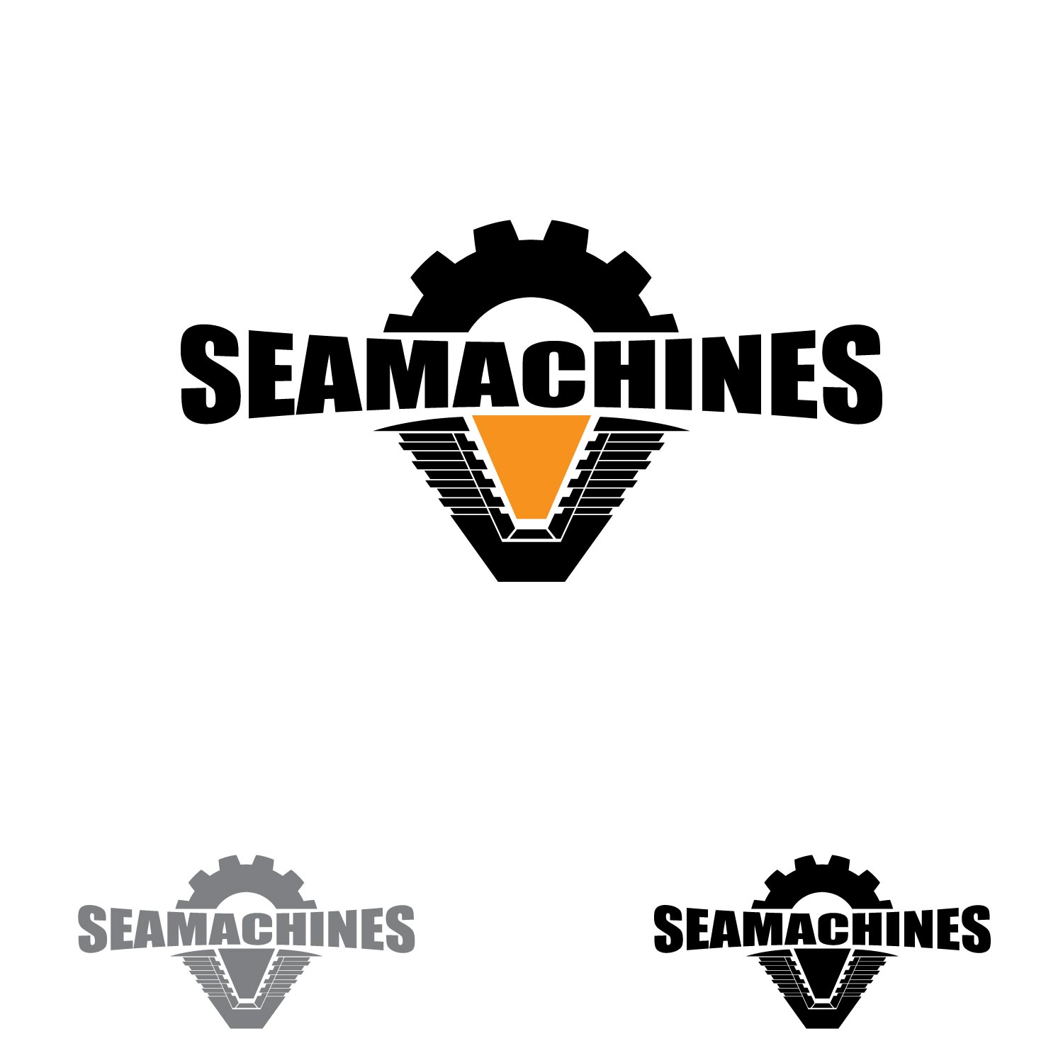 Logo Design by lagalag - Entry No. 74 in the Logo Design Contest Creative Logo Design for SeaMachines.