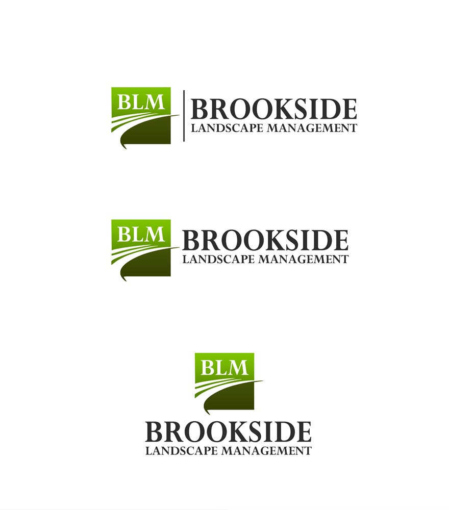 Logo Design by Respati Himawan - Entry No. 65 in the Logo Design Contest New Logo Design for Brookside Landscape Management.