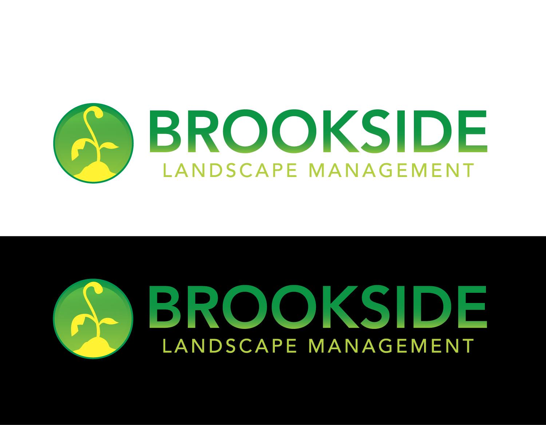 Logo Design by rA - Entry No. 66 in the Logo Design Contest New Logo Design for Brookside Landscape Management.