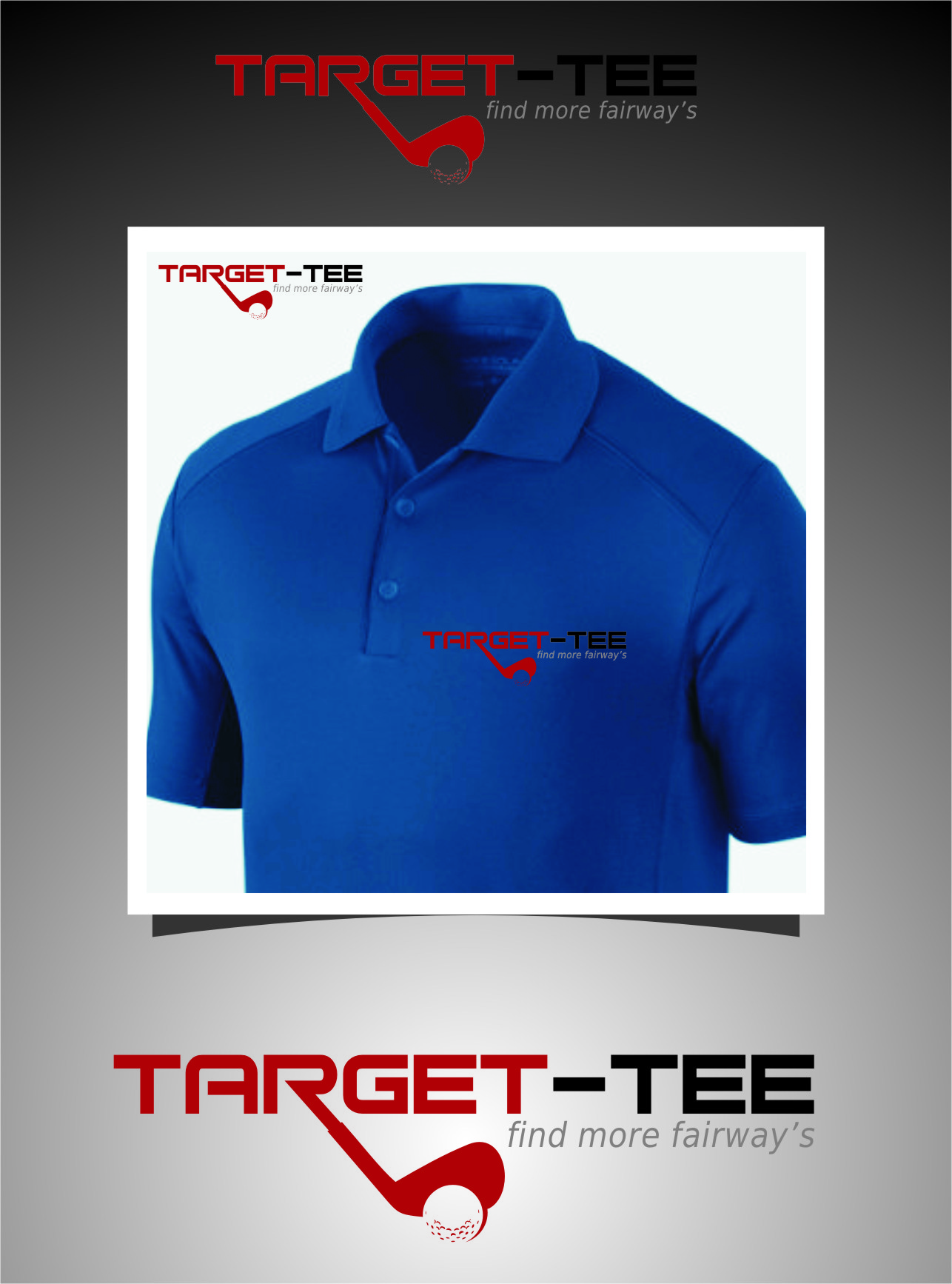 Logo Design by Ngepet_art - Entry No. 154 in the Logo Design Contest Imaginative Logo Design for TARGET-TEE.