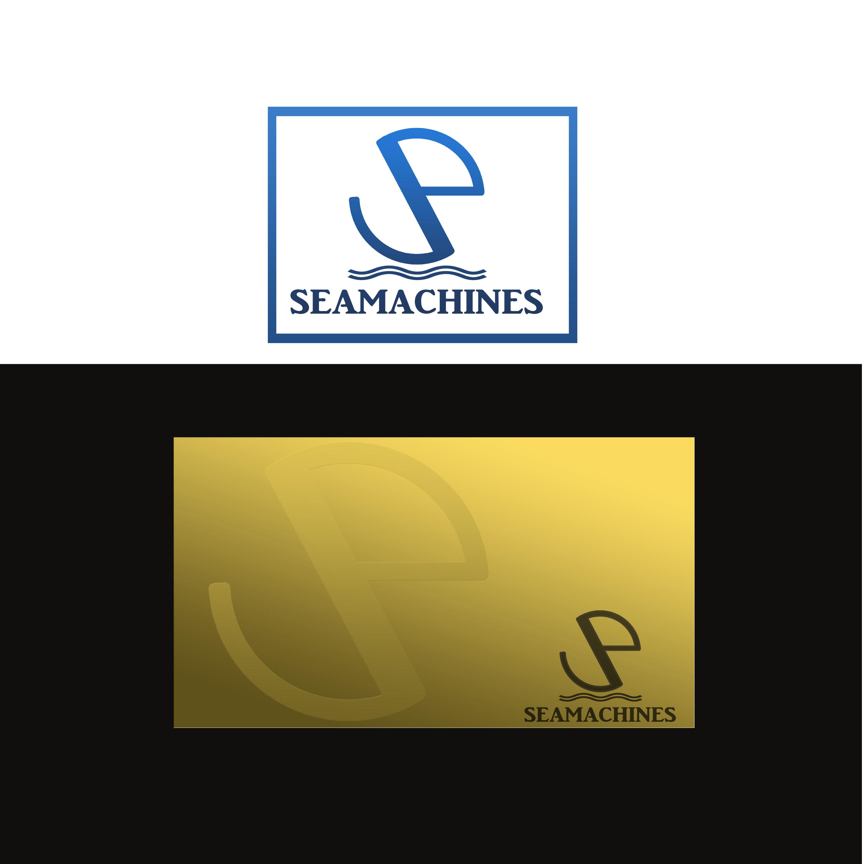 Logo Design by Allan Esclamado - Entry No. 78 in the Logo Design Contest Creative Logo Design for SeaMachines.
