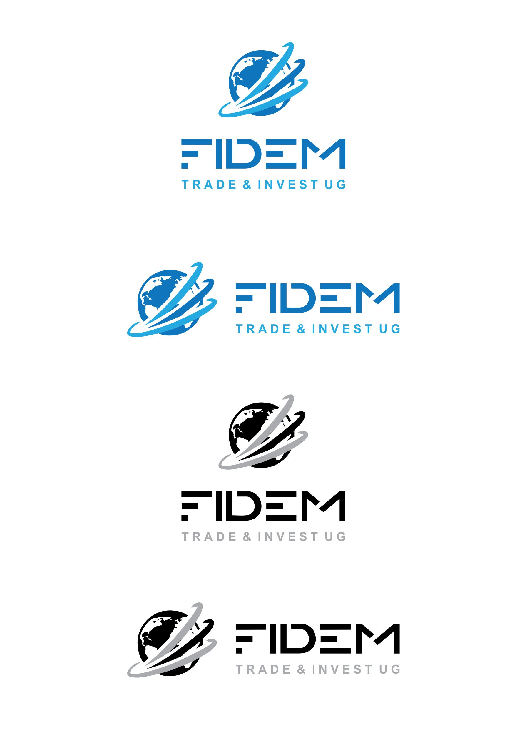 Logo Design by Muhammad Aslam - Entry No. 263 in the Logo Design Contest Professional Logo Design for FIDEM Trade & Invest UG.