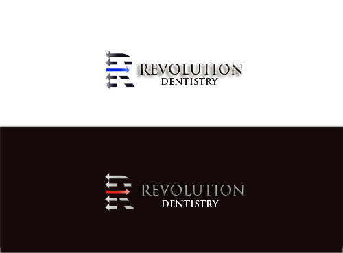 Logo Design by kashif97 - Entry No. 13 in the Logo Design Contest Artistic Logo Design for Revolution Dentistry.