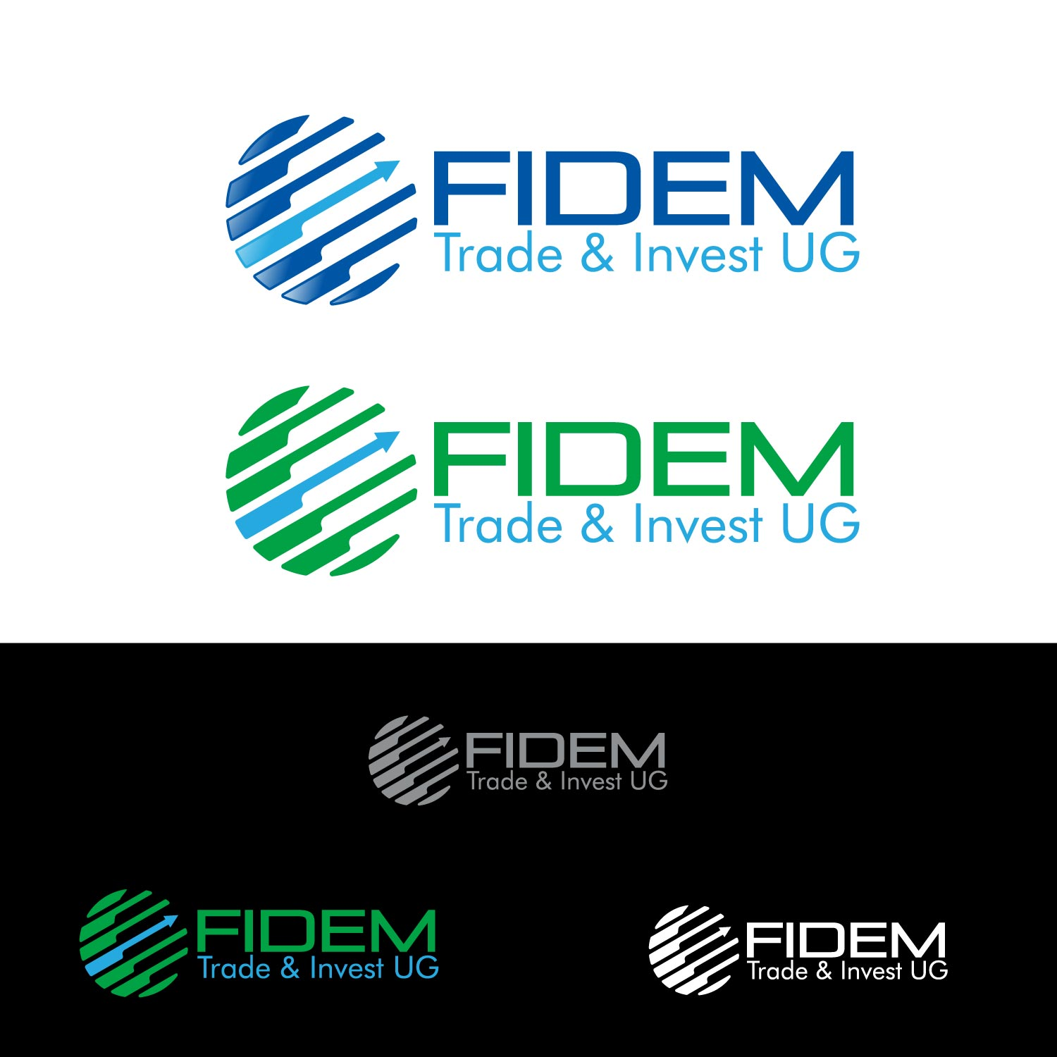 Logo Design by lagalag - Entry No. 276 in the Logo Design Contest Professional Logo Design for FIDEM Trade & Invest UG.