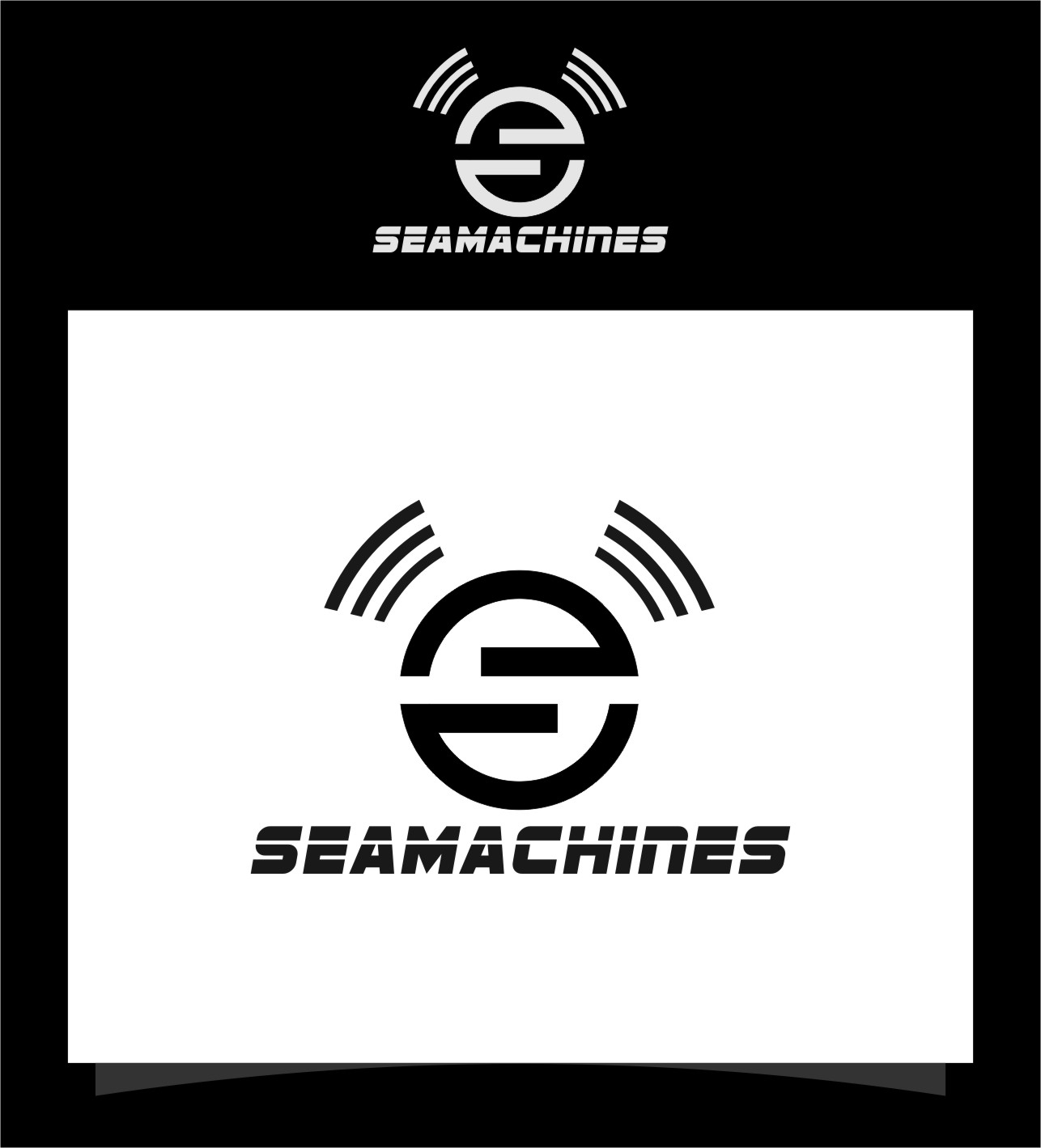 Logo Design by RasYa Muhammad Athaya - Entry No. 81 in the Logo Design Contest Creative Logo Design for SeaMachines.