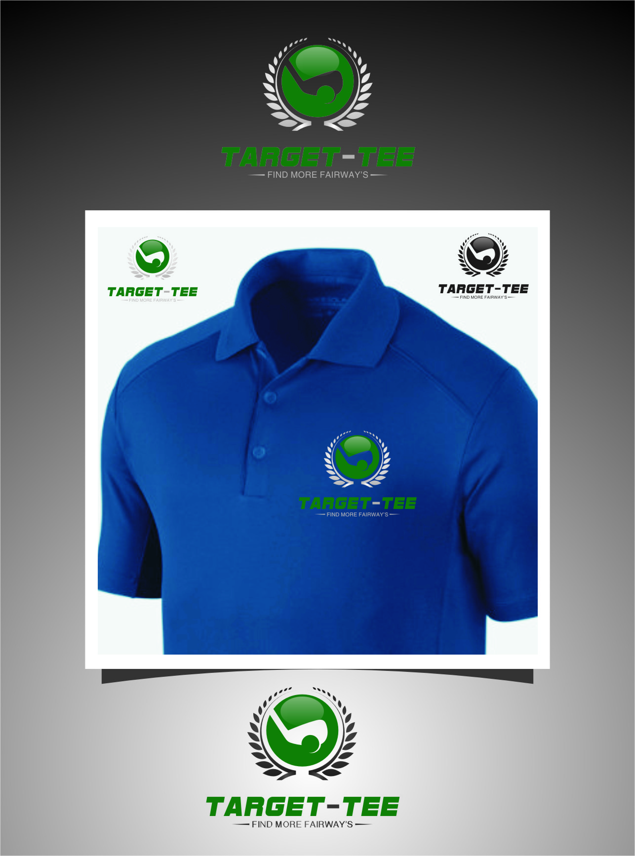 Logo Design by RasYa Muhammad Athaya - Entry No. 156 in the Logo Design Contest Imaginative Logo Design for TARGET-TEE.