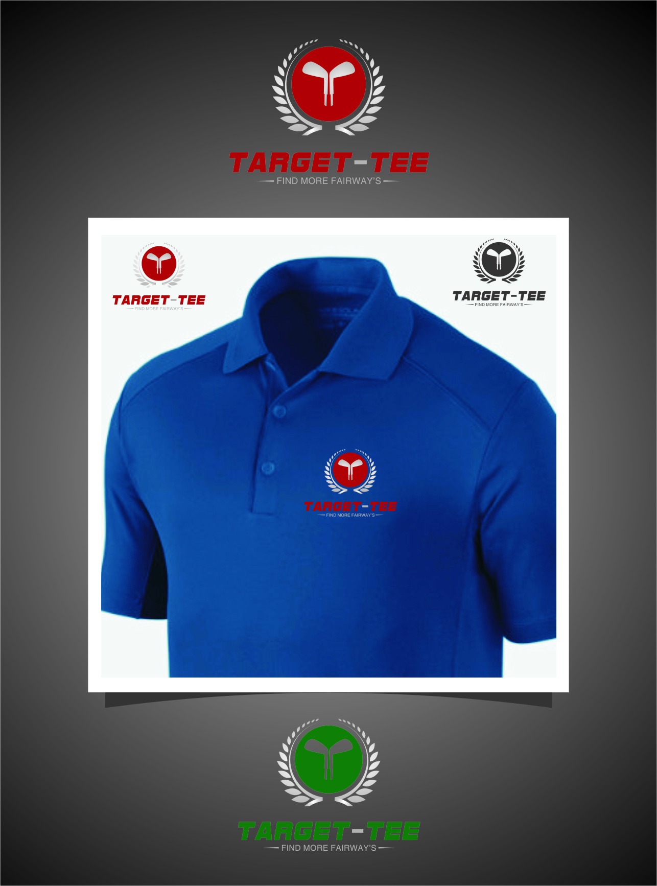 Logo Design by RasYa Muhammad Athaya - Entry No. 157 in the Logo Design Contest Imaginative Logo Design for TARGET-TEE.