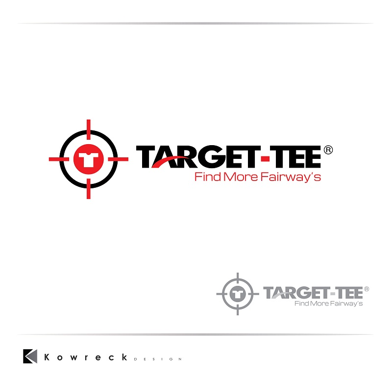 Logo Design by kowreck - Entry No. 158 in the Logo Design Contest Imaginative Logo Design for TARGET-TEE.