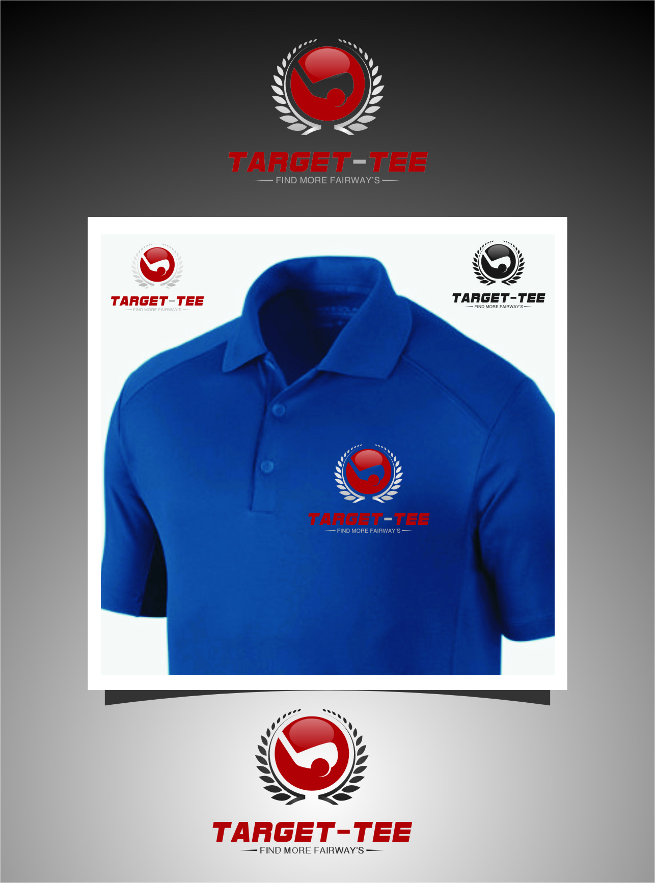 Logo Design by RasYa Muhammad Athaya - Entry No. 160 in the Logo Design Contest Imaginative Logo Design for TARGET-TEE.